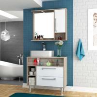 Conjunto Para Banheiro Luise Barrique E Branco