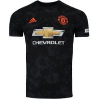 Camisa Manchester United Iii 19/20 Adidas - Masculina - Preto