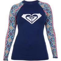 Camiseta Lycra Roxy Pasadena - Feminino
