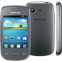 "Smartphone Samsung Galaxy Pocket Neo Prata Gt-S5310 - 3"" - Wi-Fi - 3G - Câmera 2Mp - Android 4.1"
