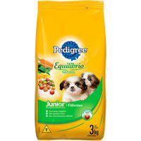 Ração Para Cães Pedigree Equilíbrio Natural Junior 3Kg