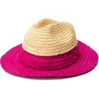 Bonpoint Chapéu Com Aba Contrastante - Neutro