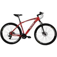 Bicicleta Aro 29 Alumínio 21V Duplo Freio A Disco - Unissex