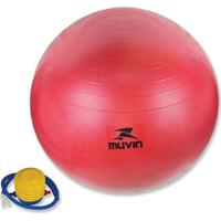 Bola Pilates Fitball Com Bomba Muvin - Unissex