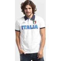 Camisa Polo Itália Kappa Bravas Masculina - Masculino