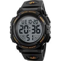 Relógio Skmei Digital 1258 Dourado