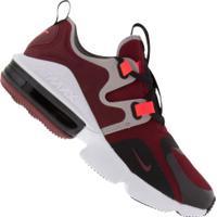 Tênis Nike Air Max Infinity - Masculino - Vermelho/Preto
