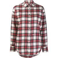 Dsquared2 Camisa Xadrez Clássica - Vermelho