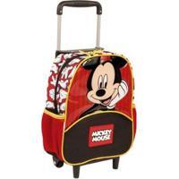 Mochilete Pequena Mickey 19Y Infantil Sestini - Masculino-Vermelho