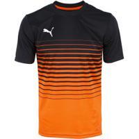 Camisa Puma Play Graphic - Masculina - Laranja Esc Preto bd88311535e