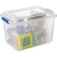 Caixa Organizadora Plástico Nitronbox Capacidade 20 Litros