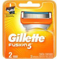 Carga Gillette Fusion 5 Com 2 Unidades