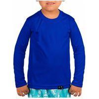 Camisa Proteção Solar Uv50+ Infantil Unissex Praia Piscina Lazer Malha Fresquinha