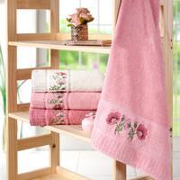 Toalha De Banho Encanto 68Cm X 1,35M Rosa Quartzo - Bene Casa