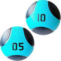 Kit Bolas De Peso Medicine Ball 5 Kg E 10 Liveup Pro Lp8110