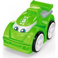 Blocos De Montar - Mega Bloks - Primeiros Carrinhos De Competição - Verde - Mattel