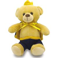 Urso De Pelúcia 30Cm - Príncipe Azul - Unik Toys