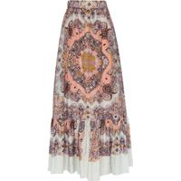 Etro Paisley Print Maxi Skirt - 250 Multicolor