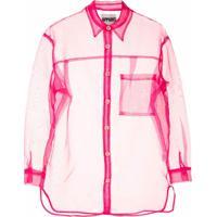 Apparis Camisa Evelyn Translúcida - Rosa