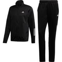 Agasalho Adidas Mts Fabric Mix Preto