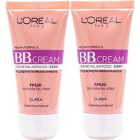 Kit 2 Bb Cream L'Oréal Paris Cor Clara Fps 20 30Ml - Feminino-Incolor