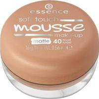 Base Facial Essence - Soft Touch Mousse Make-Up 40 - Feminino-Incolor