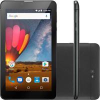 "Tablet Multilaser M7-3G 7"" 8Gb Wi-Fi Quad Core Nb269 Preto"