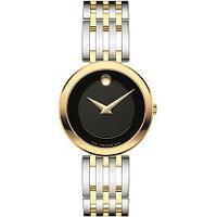 4479b741a86 Relógio Movado Feminino Aço Prateado E Dourado - 0607053