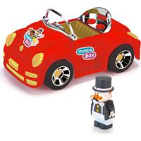 Veículo Roda Livre E Mini Figura - Mundo Bita - Vermelho - Monte Líbano