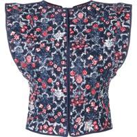 Isabel Marant Étoile Oversized Shoulder Jacket - Azul