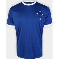 Camisa Cruzeiro Rei De Copas N° 10 Exclusiva Masculina - Masculino-Azul