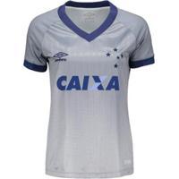 Camisa Umbro Cruzeiro Iii 2018 Feminina - Feminino
