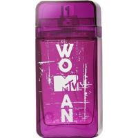 Perfume Feminino Mtv Woman Mtv Eau De Toilette 75Ml - Feminino-Incolor