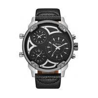 Relógio Masculino Oulm-Hp3548A Analógico - Cinza E Preto