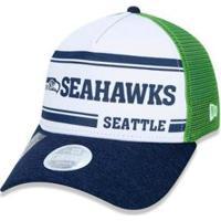 Boné New Era Aba Curva Ajustavel Nfl Seattle Seahawks - Unissex