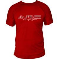 Camiseta Uppercut Jiu-Jitsu Dry Fit Raspagem Vermelha
