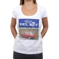 Del Rey - Camiseta Clássica Feminina