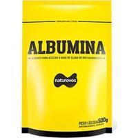Albumina - 500G - Naturovos - Sem Sabor