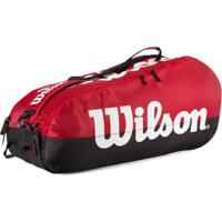 Raqueteira Wilson Esp Team X6 - Unissex