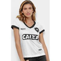 d44e920ed7 Netshoes  Camisa Botafogo Iii 2018 S N° Torcedor Topper Feminina - Feminino
