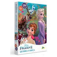 Quebra-Cabeça Frozen 2 100 Peças Encapado - Toyster