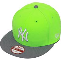 Netshoes  Boné New Era Aba Reta Snapback Mlb Ny Yankees 2Ton - Unissex 4e8b84f409519
