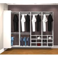 Conjunto Completo Para Closet 44 Branco - Getama Moveis