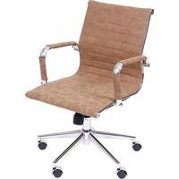 Cadeira Office Eames Esteirinha Retrã´- Castanho- 96Xor Design