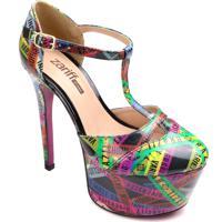 Sapato Meia Pata Zariff Diversity Salto 15