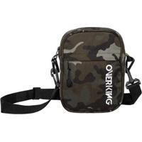 Bolsa Lateral Shoulder Bag Overking First - Unissex-Verde