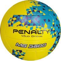 Bola Penalty Vôlei 3600 Fusion Viii Amarela