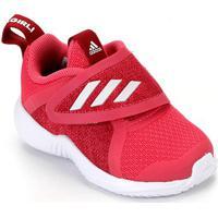 Tênis Adidas Fortarun X Cf Infantil - Unissex-Pink+Branco