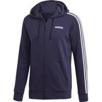 Blusão E Jaqueta Adidas E 3S Fz Ft Azul