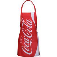 Avental Coca-Cola Enjoy Vermelho 50X0.1X70Cm Urban